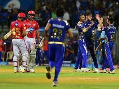 Kings XI Punjab vs Mumbai Indians 9th Match Live Score IPL 2019