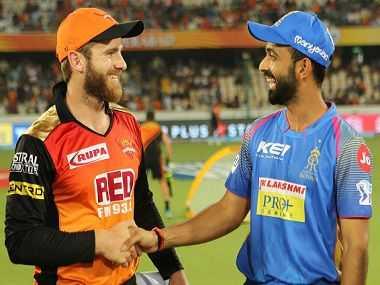 Sunrisers Hyderabad vs Rajasthan Royals 8th Match Live Score IPL 2019